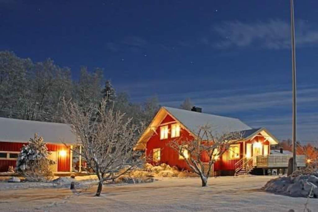 Vinter bilde av Lille Enerhogen