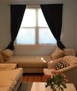 Sunny spacious home-15 mins NYC