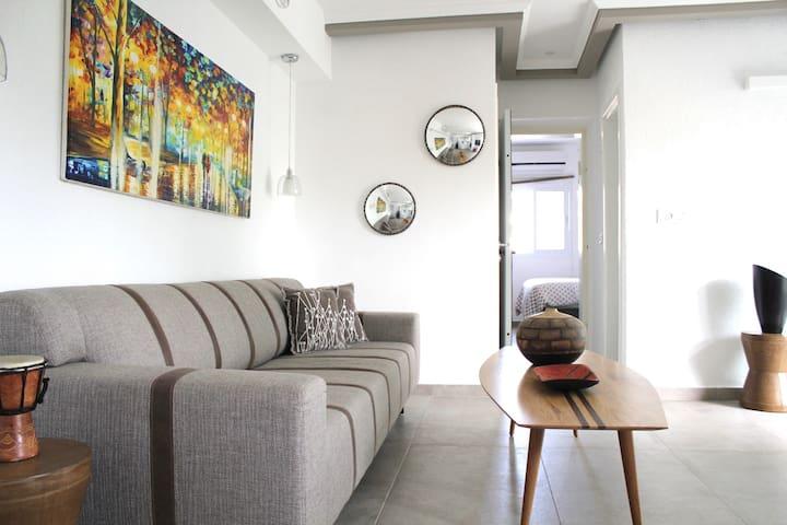 BEST SPOT off Dizengoff  - 2 Bedrooms + Balcony