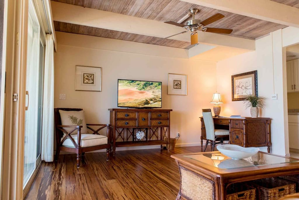 Beautiful and spacious living space renovated in Summer of 2016