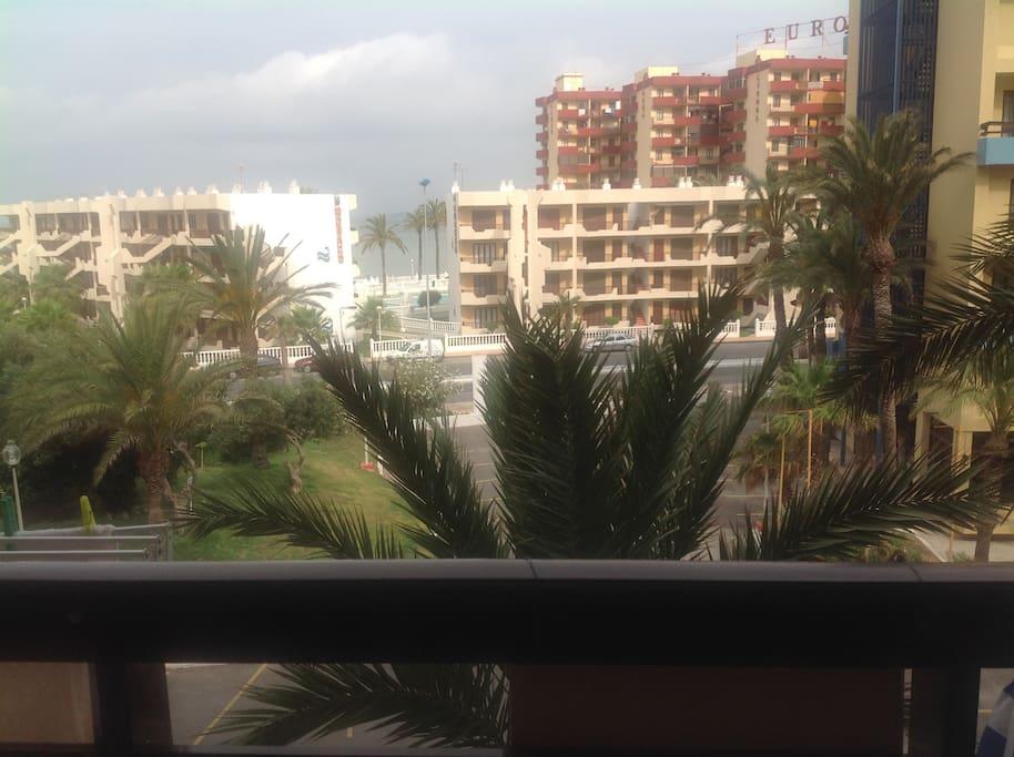 Vistas al mar menor desde la terraza