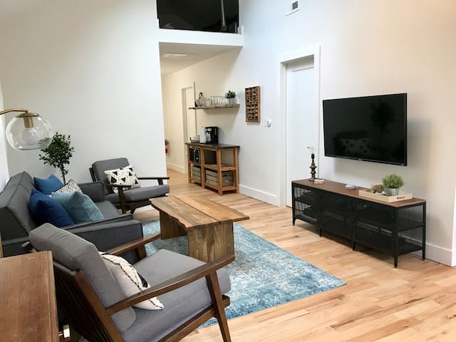 Living room - DirectTV Now with Netflix and HBO