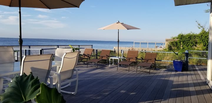 Seaview, Fire Island. On the Bay! Amazing location