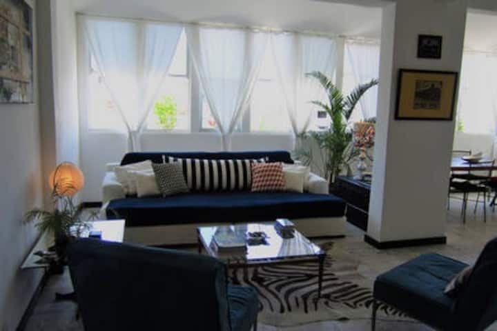 Rio Copacabana Terraced BB- white room