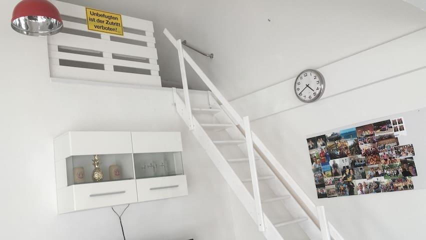 Living Room for a short Berlin Trip