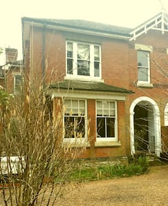 Large Victorian semi detached house in quiet road