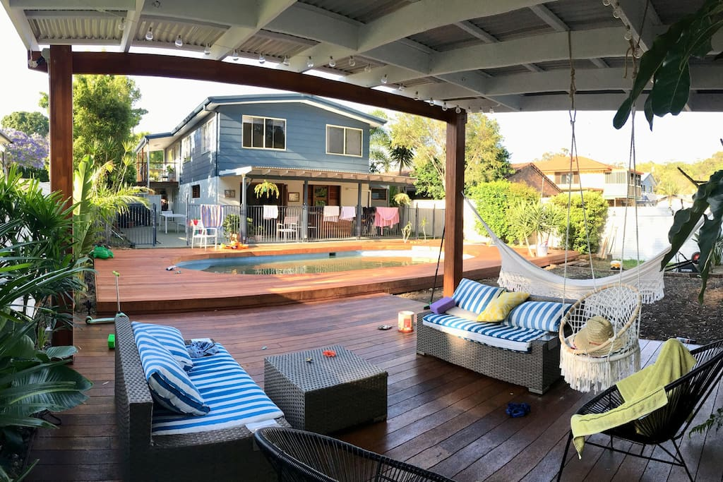 Brand new patio and pool deck