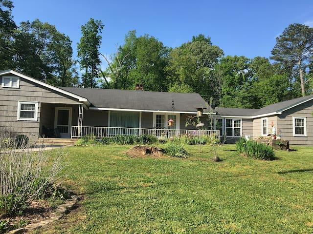 Country home, 5 acres Chickamauga/Chattanooga