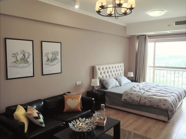 Spacious room, next to Confucius Temple and Subway - Nanjing - Apartamento
