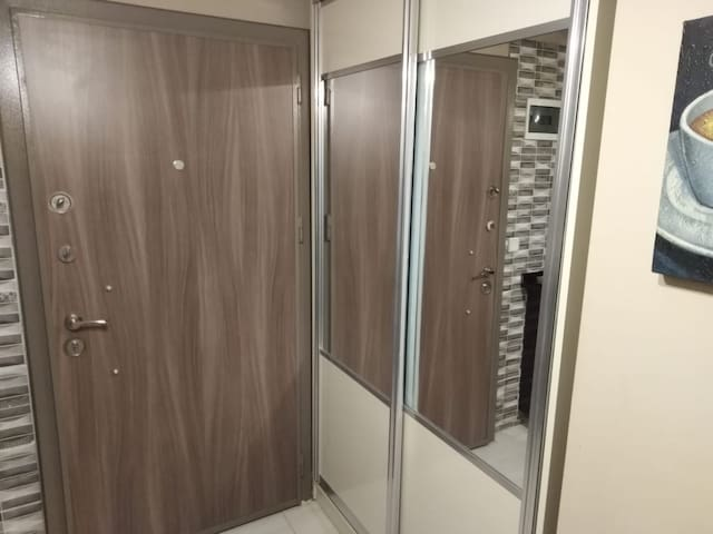safe locked door