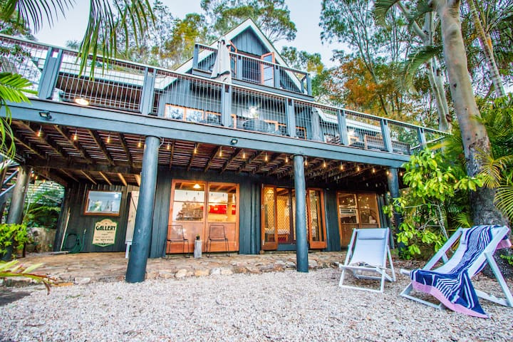 The Gallery - Pet Friendly 1770 Beach House