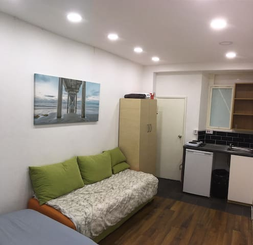 Small studio flat, in central london