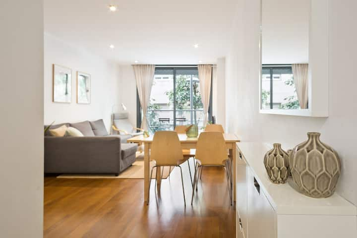 Olala Les Corts Exclusive 1BR Flat w/ balcony