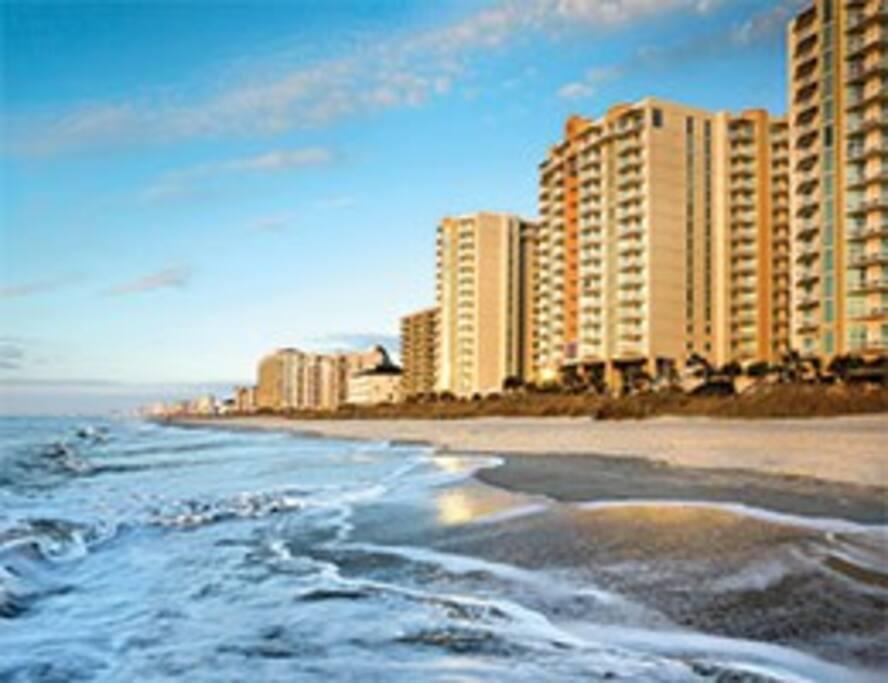 Wyndham Ocean Boulevard North Myrtle Beach Resorts For Rent In North Myrtle Beach South