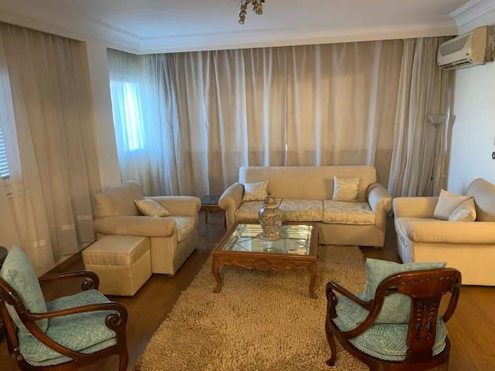 Cozy side Nile view & shinny apartment