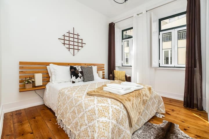 Cozy and Comfortable Double room Marques de Pombal
