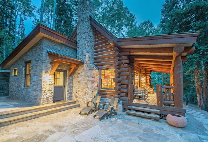 YELLOW BRICK CABIN - Ski in & out cabin, Mountain Village Core with private hot tub!