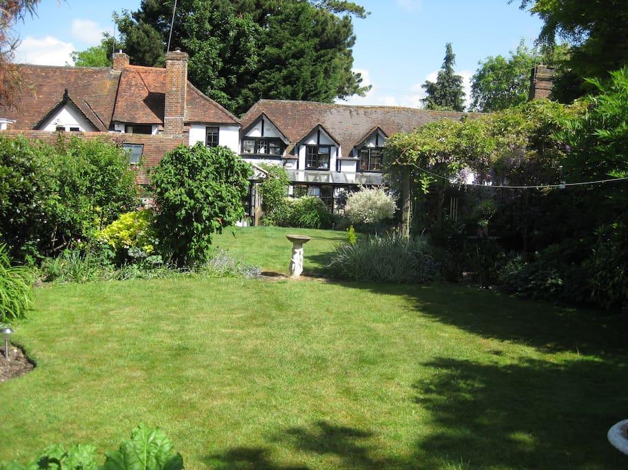 Malt Cottage garden