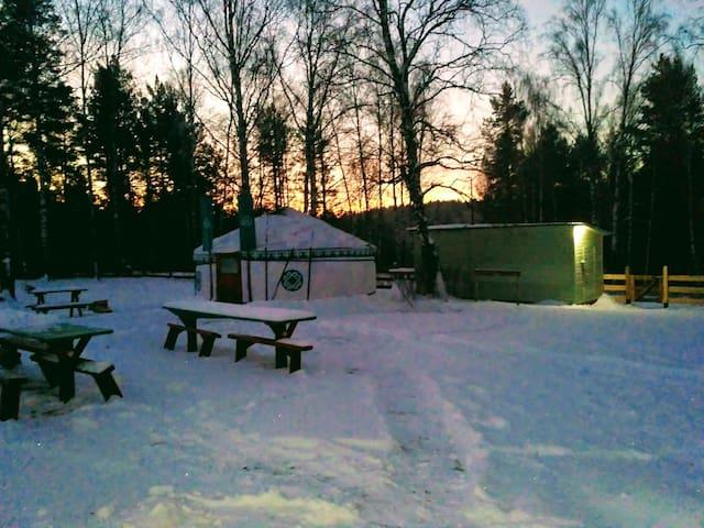 Yurt camping Shaytan-kudey