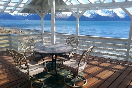 Oceanfront Inn Private Suite - Seward - Apartment
