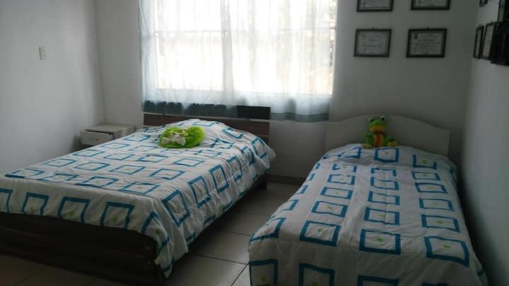 Habitación en Casita Blanca Catemaco