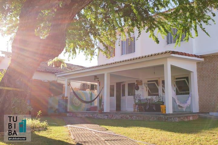 Tubiba Hostel - habitacion doble #3 - playa