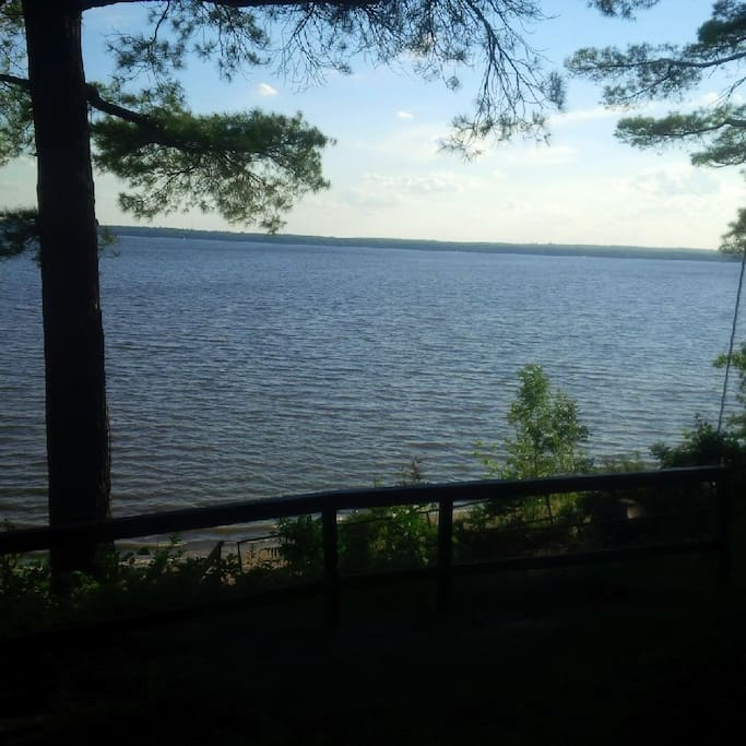 Beautiful view from cottage
