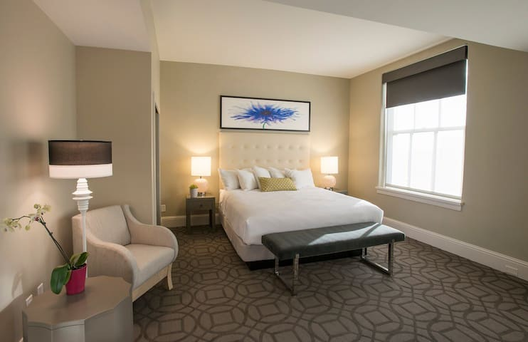 Enjoy a Deluxe King Room in Downtown Denver