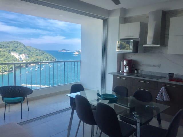 Blue Apartamento Acapulco Diamante