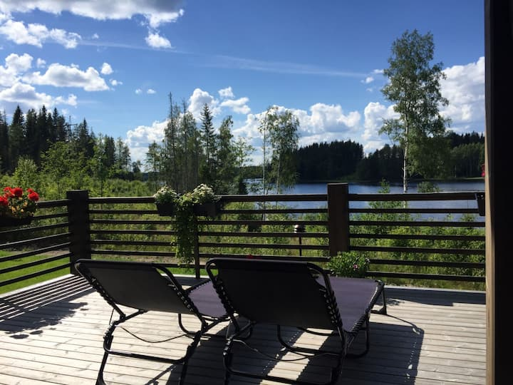 Cottage Savela in Lakeland Saimaa + private beach