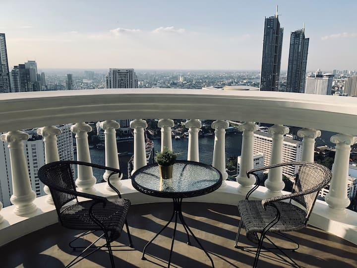 5-Stars New&Luxury, Pano Riverview, 5 mins to BTS