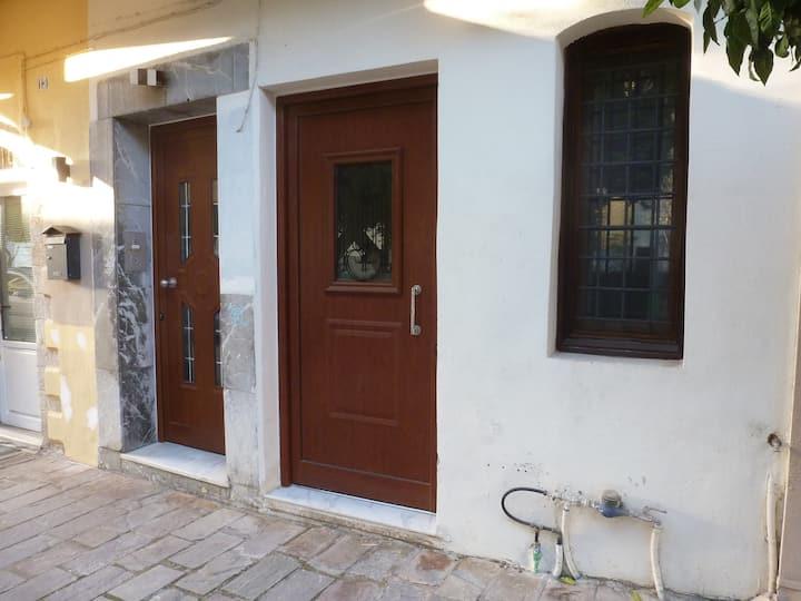 Giorgo's small apartment