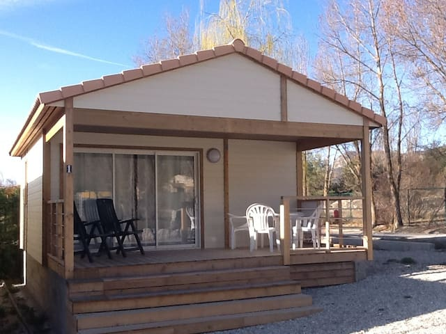 Chalet n1 Castellane in Provence langs R. Napoleon - Castellane