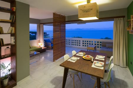 Designer's flat in Rafina 1/2 MIN WALK FROM BEACH - Rafina