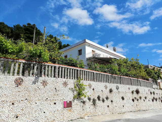 Lemons tree house in Peschici