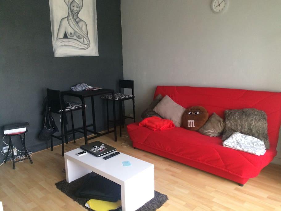 Studio 30m meubl flats for rent in bordeaux aquitaine for Studio meuble bordeaux
