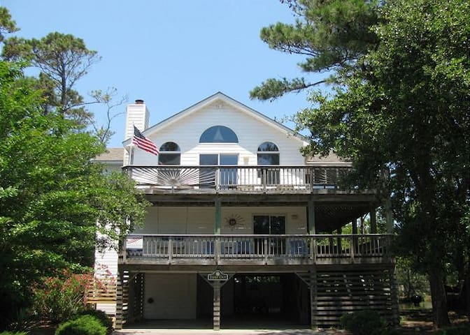 """Time Out"" -  5 BR/4BA Beach Home in Corolla Light - Corolla - Huis"