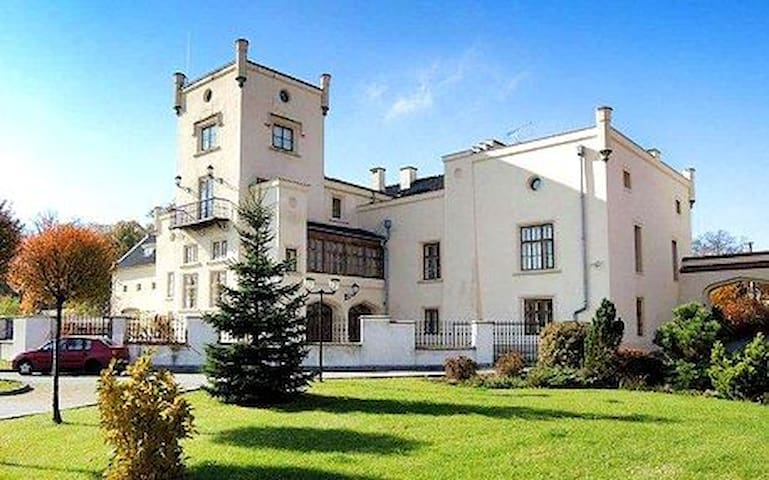 Chateau near Prague, up to 10 bedrooms /max 28 ppl