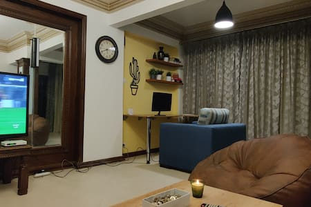 Modern & calm room in Agouza for foreigners only.