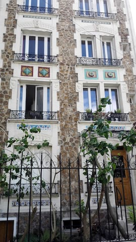 charming 3 P appartment close to Paris - Nogent-sur-Marne - Apartamento