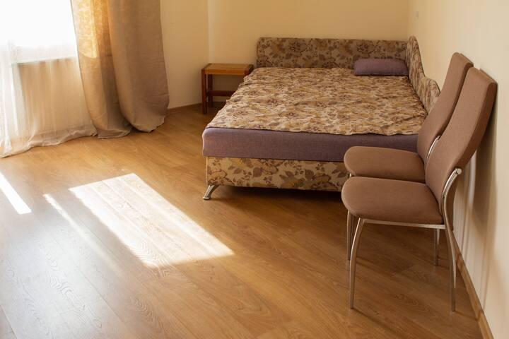 Spacious one-room flat near Akademicheskaya subway