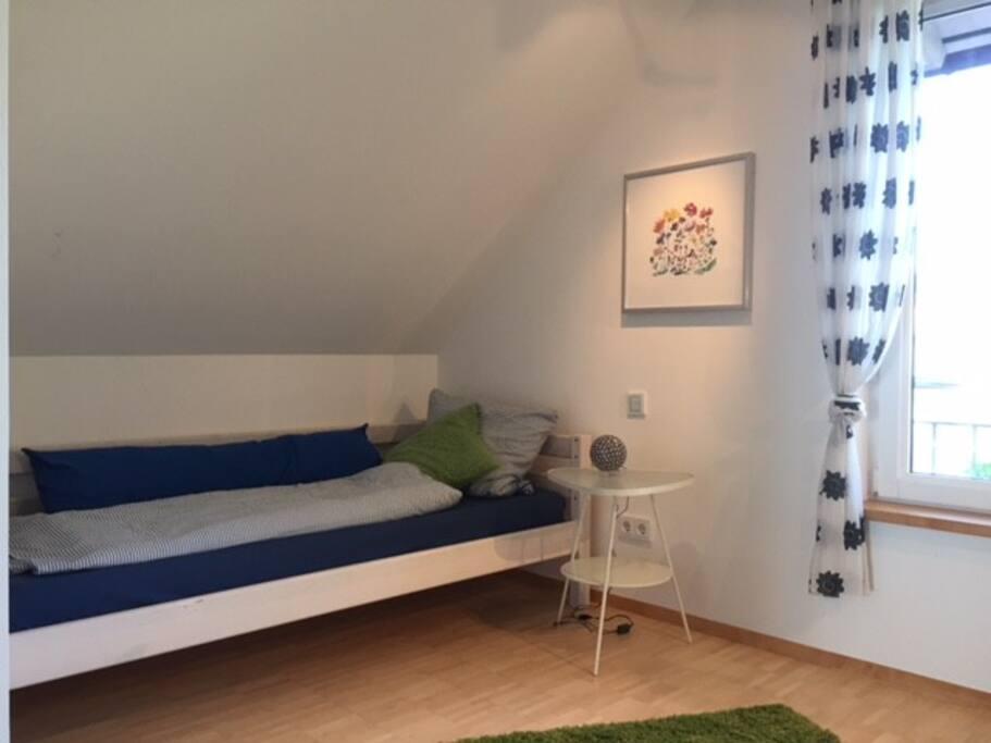 Das Einzelbett (90*200cm)