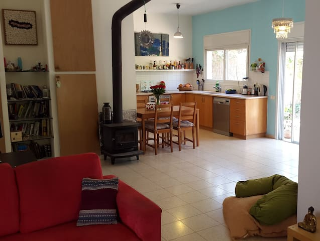 Private house near the beach! - Kfar Vitkin - Casa