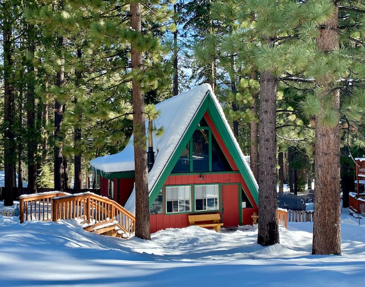 The Westcabinn, an authentic Tahoe experience