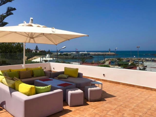 Beachfront Rabat Villa