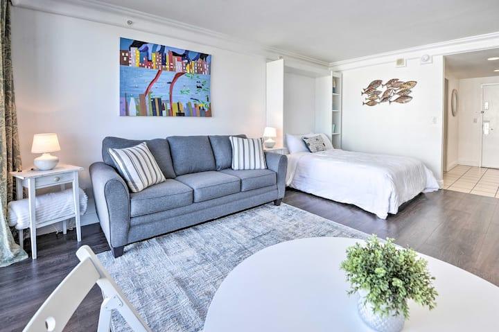 NEW! Resort Studio w/ Beach Access & Ocean Views!
