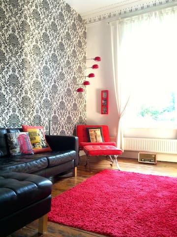 Bright Victorian Apartment in Sydenham, London - Londres - Pis