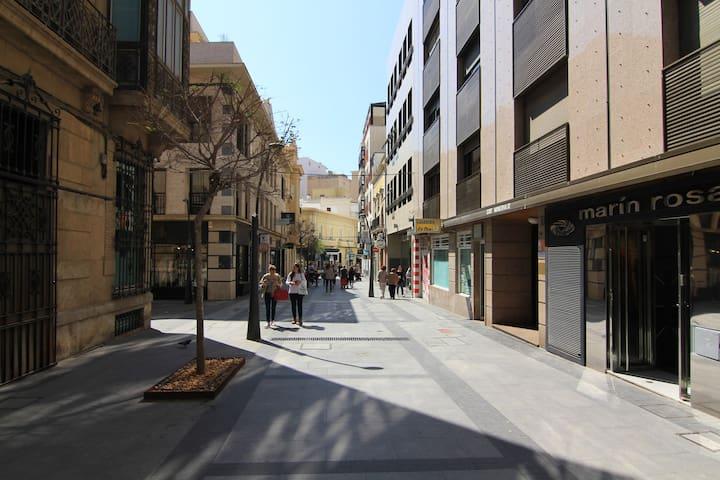 SUITE VINTAGE PARA DOS EN PLENO CENTRO DE ALMERIA