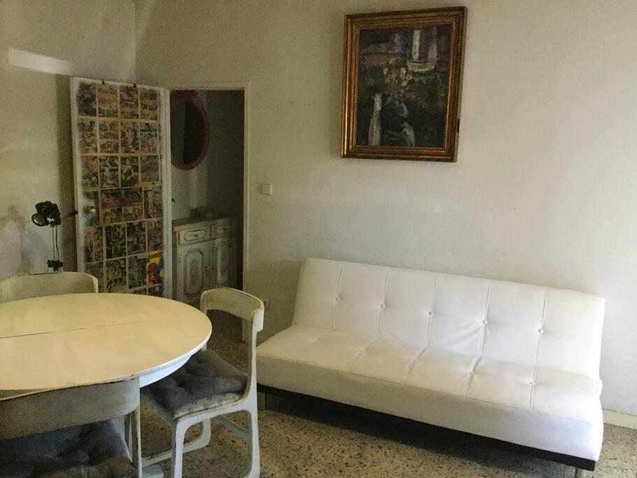 Full ground floor apartment perfect temperature for Sala 8 collado villalba
