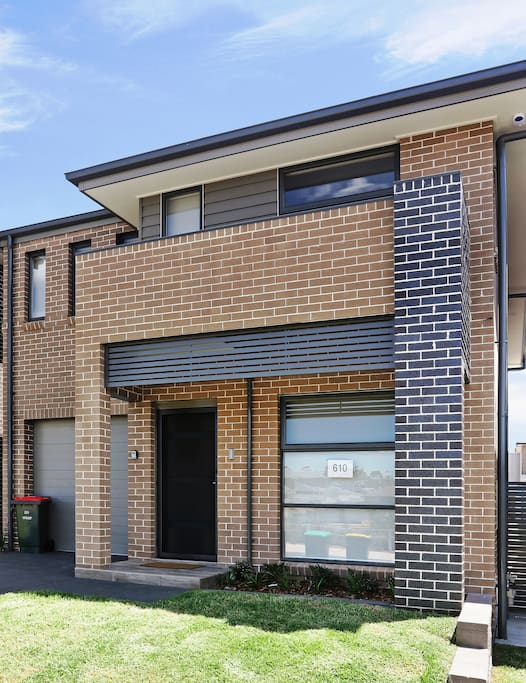 Brand new property, with single car garage Additional parking available in driveway